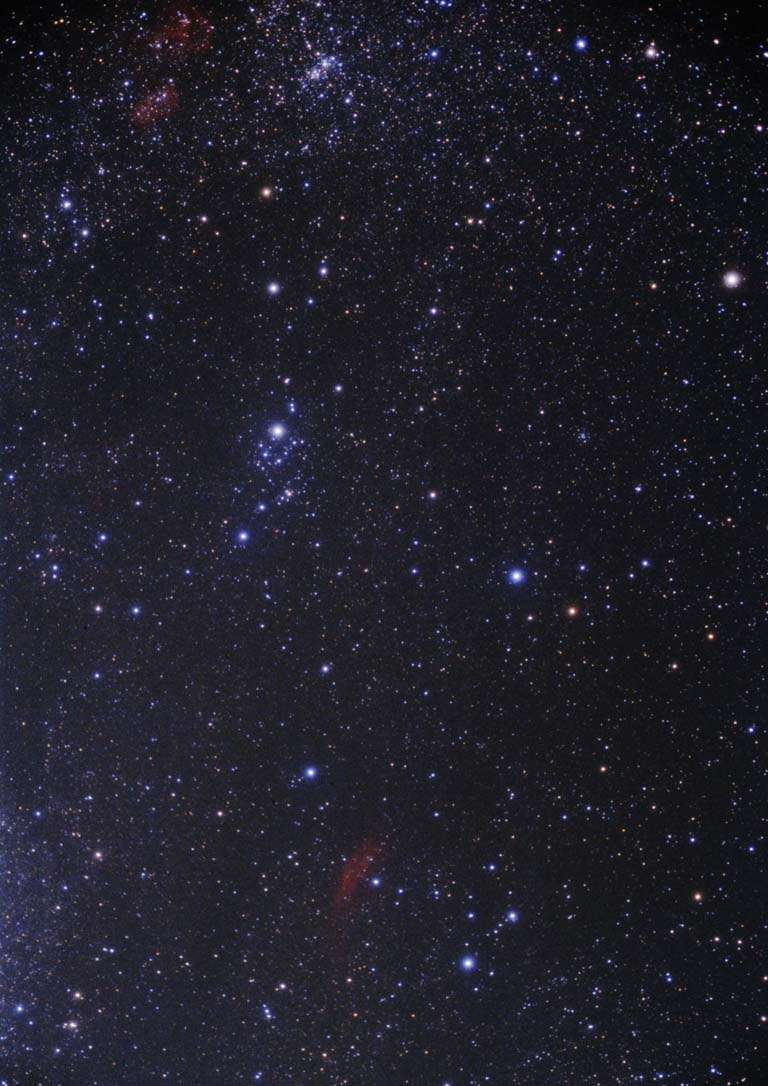 Perseus Constellation - Star Image View