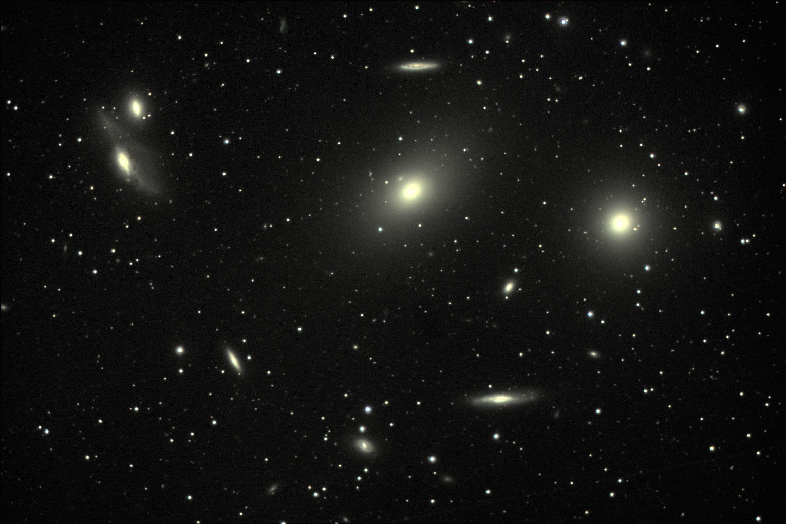 Image name virgo cluster of galaxys m84 m86 source http www