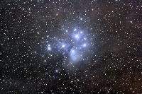 M45 The Pleiades by Matthew T. Russell