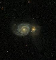 M51 - Messier 51 - Whirlpool Galaxy