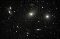 Virgo Cluster of Galaxys (M84, M86,