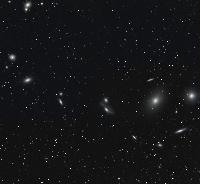 Virgo Cluster of Galaxies (wide)