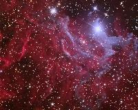 The Flaming Star Nebula - IC405