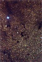 Dark Nebulae B78, B72 (Snake Nebula) and B74
