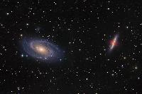 two galaxy of Ursa maior