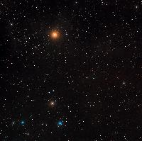 Wide-field image of the ZwCl0024+1652 region