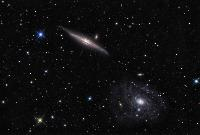 NGC 5963 & NGC 5965 by Ken Crawford
