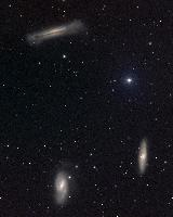 Leo Triplet (M66 group) by NOAO