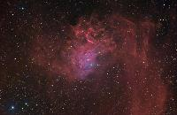 IC405 Flaming Star Nebula by Thomas V. Davis
