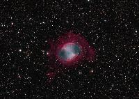 M27 The Dumbbell Nebula by Thomas V. Davis