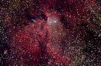NGC 6188, Emission Nebula in Ara by Martin Pugh and Robert Gendler