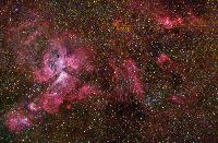 Eta Carinae Nebula wide field by Robert Gendler and Stéphane Guisard