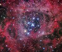 The Rosette Nebula and NGC 2244 by Robert Gendler