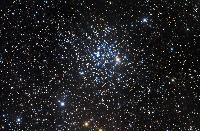 M52 Open Cluster in Cassiopeia by Robert Gendler 2006