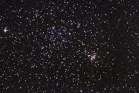 M35 and NGC 2158, Open Clusters in Gemini by Robert Gendler 2004