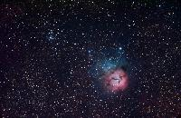 M20 and NGC 6531 by Michael Sidonio