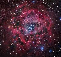The Rosette Nebula in Monoceros by Robert Gendler 2007
