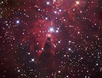 The Cone Nebula by Robert Gendler