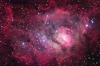 M8, The Lagoon Nebula by Robert Gendler 2005