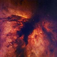 NGC 2024, The Flame Nebula in Orion by Robert Gendler, Jan-Erik Ovaldsen, Christina Thöne, and Chloé Feron