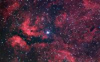 Nebulosity Surrounding Gamma Cygni by Robert Gendler