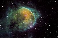 NGC 3324 Gabriela Mistral Nebula in colour Mapped Narrowband by Fred Vanderhaven