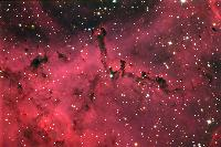 Rosette Nebula detail by Pat and Chris Lee/NOAO (10/14/2007)