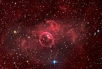 Bubble Nebula by Dee Dee Monson/Flynn Haase/NOAO (9/12/2007)