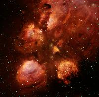 NGC 6334: The Cat's Paw Nebula