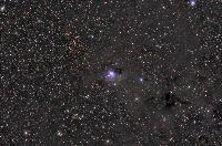 NGC7129 and NGC7142 (open cluster); Cepheus by Thomas V. Davis, May 2008