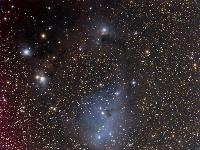 IC 446  +  IC 447 by Bernhard Hubl, 2007-01-13/ 2007-01-15