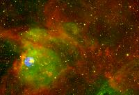 Supernova Remnant N 63A by Spitzer infrared, Chandra X-ray and ground-based Halpha