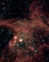 N 63A Spitzer Space Telescope