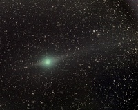 Comet Lulin on February 2nd 2009; by Paolo Candy
