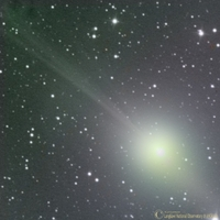 Comet Lulin on February 2nd 2009; by langkawi National Observatory