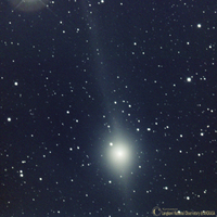 Comet Lulin on January 7th 2009; by langkawi National Observatory