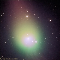 Comet Lulin on February 22nd 2009; by Langkawi National Observatory