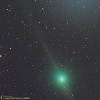 Comet Lulin on February 6th 2009; by langkawi National Observatory