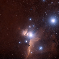 IC434 region by Victor Matveev using DSS2 data