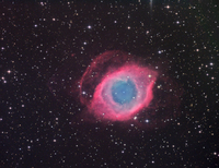 NGC 7293: The Helix Nebula by Josch Hambsch, Karel Teuwen