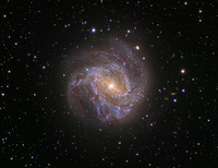 Spiral Galaxy M83: The Southern Pinwheel  by Robert Gendler and Stephane Guisard