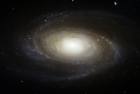 Bright Spiral Galaxy M81 from Hubble