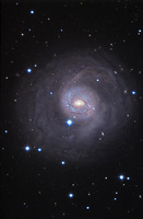 The Outskirts of M77  by  Ken Crawford (Rancho Del Sol Observatory)