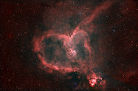 Light from the Heart Nebula  by Matt Russell