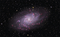 M33: Spiral Galaxy in Triangulum  by Thomas V. Davis (tvdavisastropix.com)