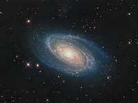 Bright Galaxy M81  by Giovanni Benintende