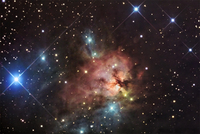 NGC 1579: Trifid of the North  by R. Jay GaBany (Cosmotography.com)