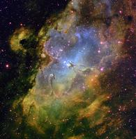 Inside the Eagle Nebula  by T. A. Rector & B. A. Wolpa, NOAO, AURA