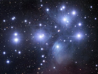 M45: The Pleiades Star Cluster  by Robert Gendler