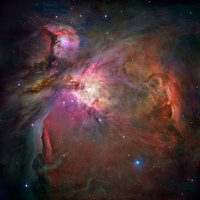 Orion Nebula: The Hubble View la